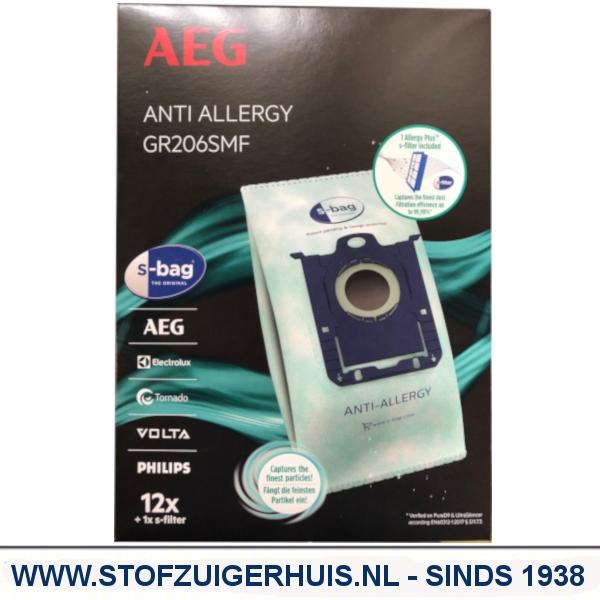 AEG stofzak Anti-Allergy S-Bag set GR206SMF - 9009232902