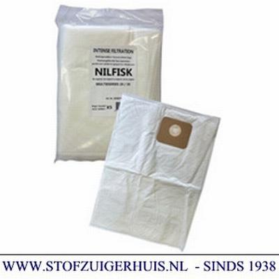 Nilfisk stofzak Multi 20 en 30 serie (5), 107402336