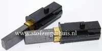 Koolborstels Numatic Nieuw model - 11 x 6,1 mm in houder
