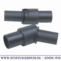 Scharnier voor plastic buizen 35mm PVC