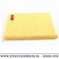 Stofwisdoek 25 x 60cm, geel 50 stuks