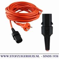 Nilfisk snoer 15 mtr oranje GD 1005 / SALTIX 10 / VP300 / GM
