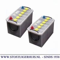Tennant S10 Batterij Tractie. 2 x 12V / 110AH - 9007151