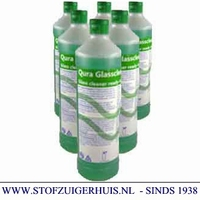 Qura Glasreiniger, 6 x 1 ltr. + 3 sprayers