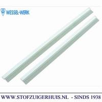 Dweilrubberset Industrie Zuigmond Aluminium, 450mm