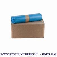 Afvalzakken 70x110 type 70my blauw