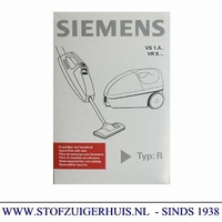 Siemens stofzak VS1A.. VR9, type R