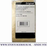 Nilfisk stofzak GU305, 355, 455, S12, D12, S15 (10+2 filter)