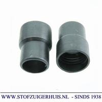 Schroefmof 28mm zwart pe - 32mm inw.
