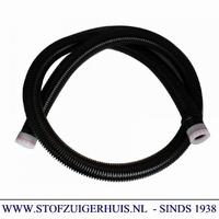 Tennant klikslang, Ø 32mm,  2.50 mtr lang zwart