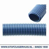 Losse slang, Ø 51mm Blauw,  per meter (max 15 mtr.)