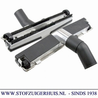 Industrie Zuigmond Aluminium, 38mm met borstel, 370mm