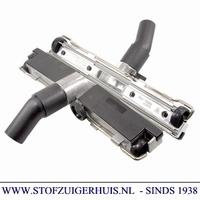 Industrie Zuigmond Aluminium, 38mm met rubbers, 450mm