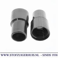 Schroefmof 32mm zwart pvc ANTISTATISCH